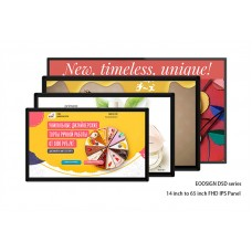 "Digital advertising display and large digital picture frames available from 14"" to 55"""