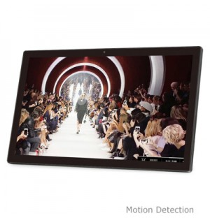 22 inch motion detection electronic signage display