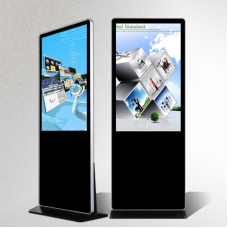 "Free standing self-service digital poster with optional WIFI Touch Android or Windows 32"" - 98"""